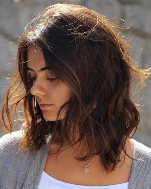 Medium-Brown-Bob 13 On-trend Bobs and their variations in 2020