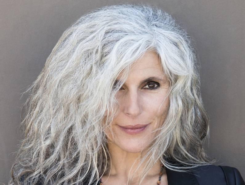 Messy-Medium-Permed-Hair Loveliest Medium Length Hairstyles for Older Women