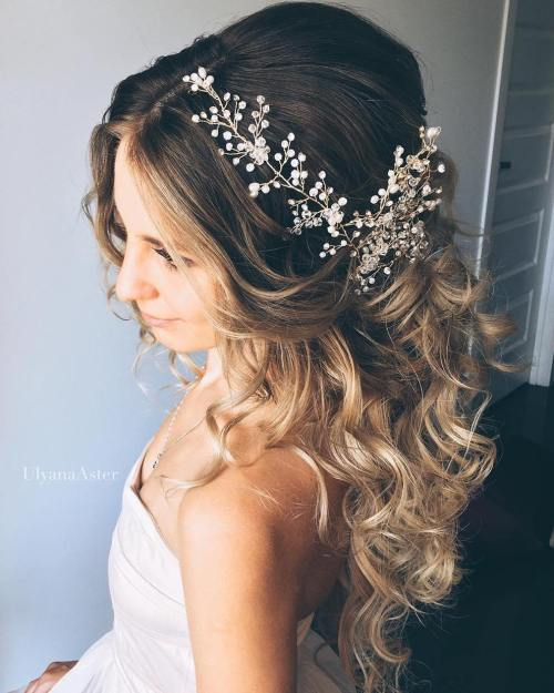 Ombre-Wedding-Hair 14 Gorgeous Wedding Hairstyles for Long Hair