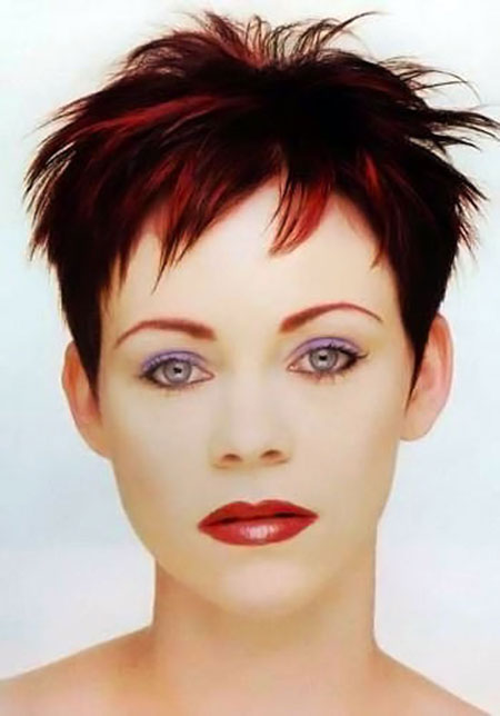 Pointy-Pixie-Hairstyle Styles For Pixie Cuts 2020