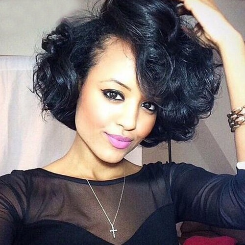 Quick-Short-Weave-Hairstyles-for-Women-27 Quick and Easy Short Weave Hairstyles