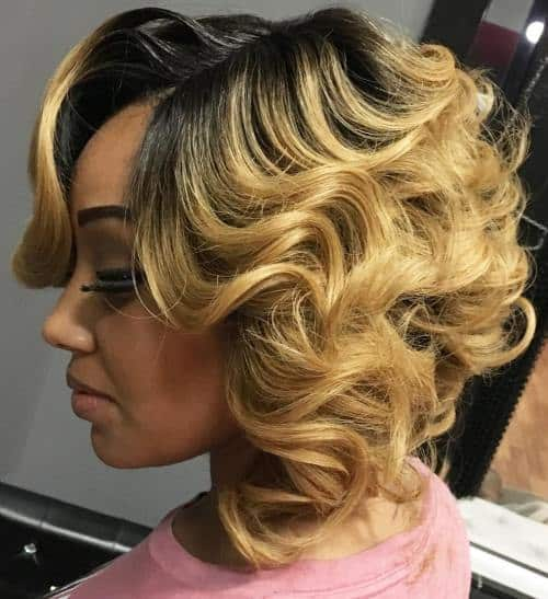 Quick-Short-Weave-Hairstyles-for-Women-7 Quick and Easy Short Weave Hairstyles