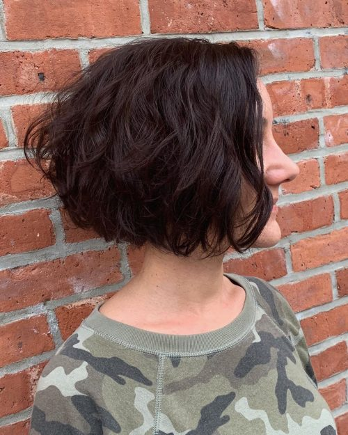 Shaggy-wavy-and-stacked 13 On-trend Bobs and their variations in 2020