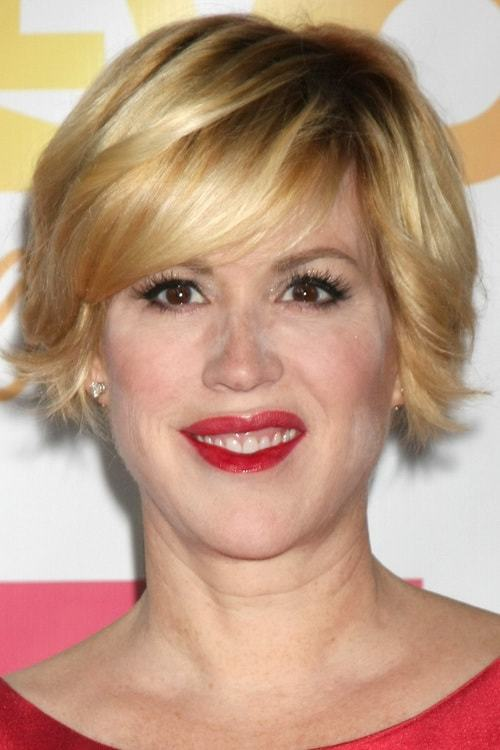 Short-Blonde-Bob-with-Side-Bangs Flawless Blonde Bob with Bangs Hairstyles to Try 2020