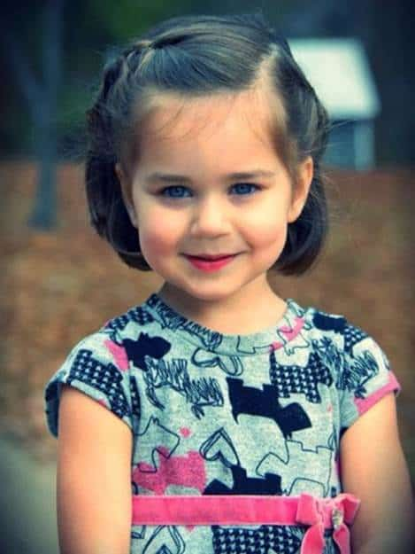 Short-Braids-for-Little-Girls Cutest Braided Hairstyles for Little Girls Right Now