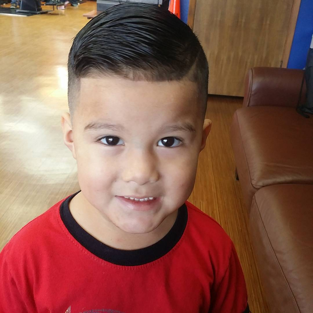 Simple-Boy-Cut Cute Haircuts for Boys for Charming Look