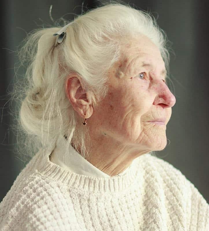 Simple-Updo Loveliest Medium Length Hairstyles for Older Women