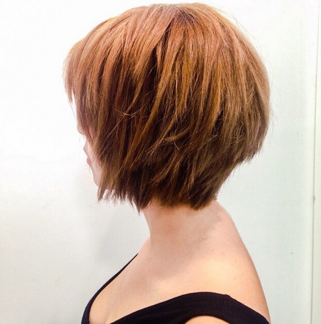 Super-Short-Choppy-Bob-with-Layers Gorgeous Choppy layered bobs in 2020
