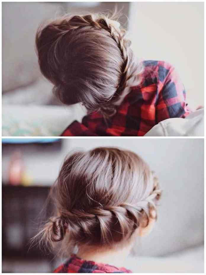 Swooped Cutest Braided Hairstyles for Little Girls Right Now