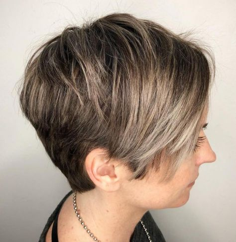 Textured-Bronde-Balayage-Pixie 14 Flattering Pixie Cuts That Will Inspire your next cut