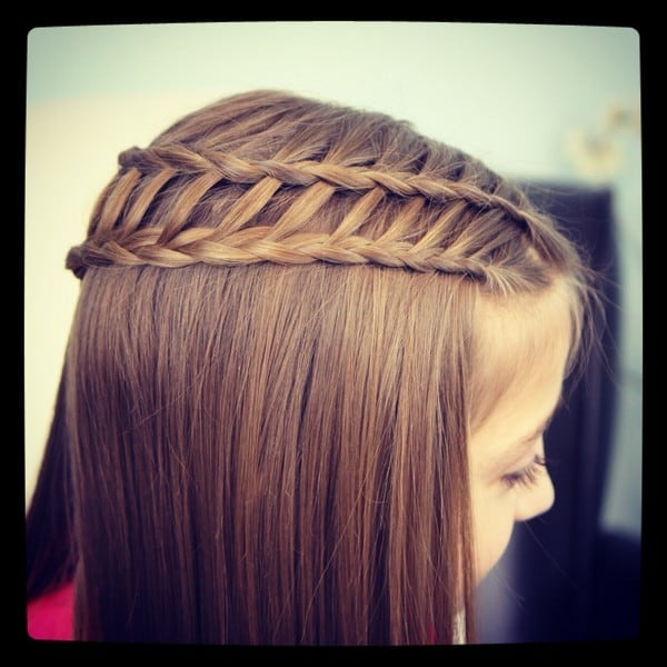 The-Ladder-Braid-Combo Cutest Braided Hairstyles for Little Girls Right Now