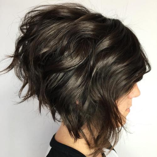 Voluminous-Short-Bob Short Bob Hairstyle Trends To Keep for 2020