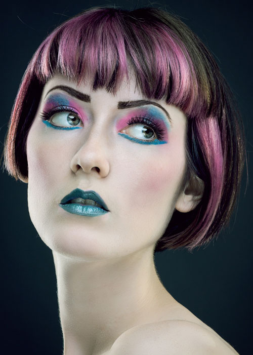 Wild-colors Captivating Inverted Bob Hairstyles That Can Keep You Out of Trouble