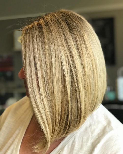 super-easy-inverted-bob Hottest inverted Bobs Hairstyles 2020