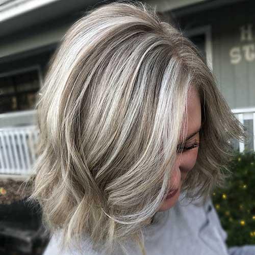 Ash-Blonde-Short-Hair Super Short Haircuts for Women