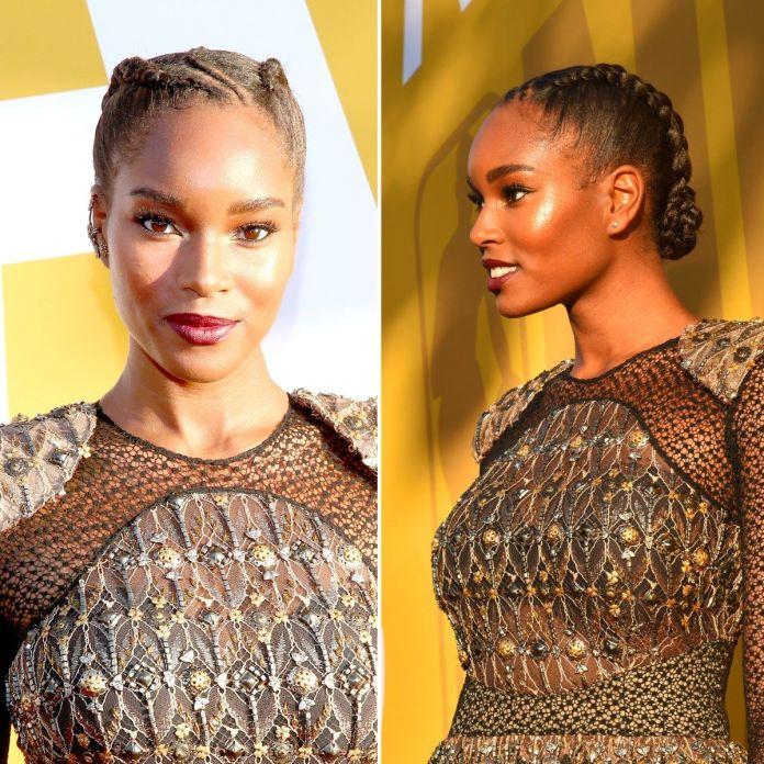 Asymmetrical-Curvy-Braid Natural Hair Braids to Enhance Your Beauty