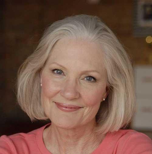 Bob-Haircut-for-Older-Women Amazing Short Haircuts for Older Women