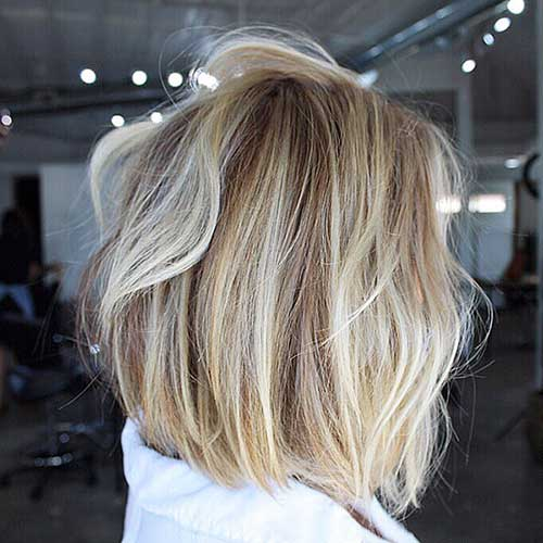Bob-with-Highlights Super Short Haircuts for Women