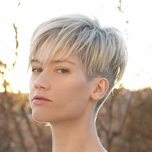 Bowl-Cut-Inspired-Pixie 14 Ways to wear a Bowl Cut