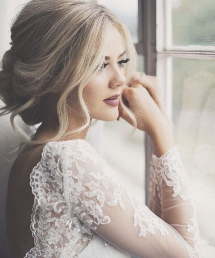 Buffet-Bun-Hairstyle Ultra Modern Wedding Hairstyles 2020