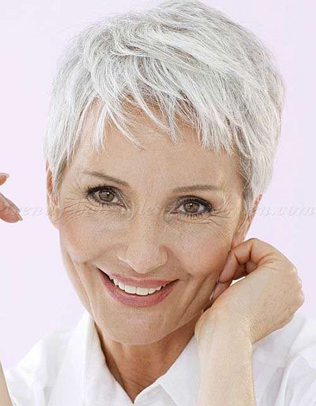 Casual-Hair 19 Great Pixie Haircuts for Older Women