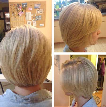 Casual-Natural-Looking-Bob 25 Blonde Bob Haircuts