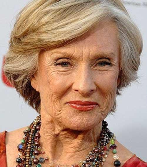 Cloris-Leachman Most Beloved Short Hair Styles for Older Women