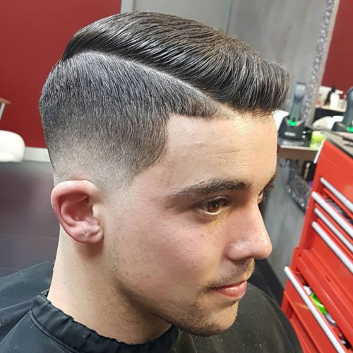 Comb-Over 10 Best hairstyles for men with thick hair 2020