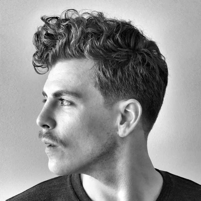 Cool-Curly-Top-Hairstyle Modern Hairstyles for Men to Look Awesome