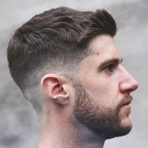Crew-Cut 10 Best hairstyles for men with thick hair 2020