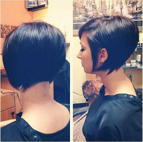 Cute-Angled-Bob-Hairstyle-for-2020 Best Ways to Sport Bob Hairstyles with Thick Hair