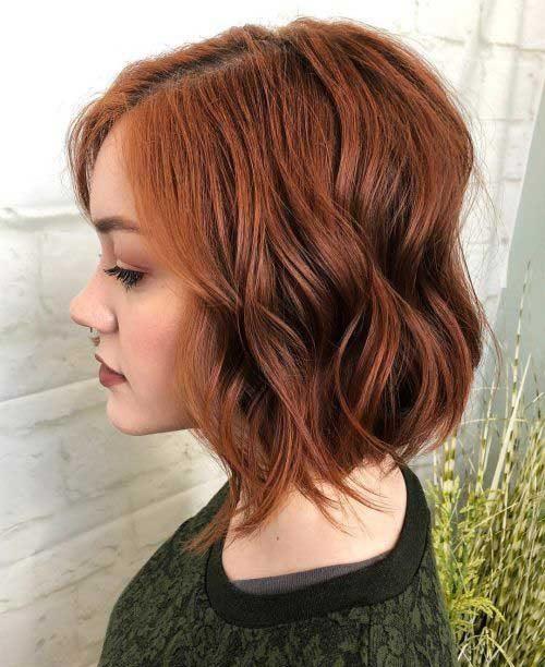 Cute-Short-Haircuts-and-Hair-Color-Ideas-009-ohfree.net_ 20 Cute Short Haircuts and Hair Color Ideas