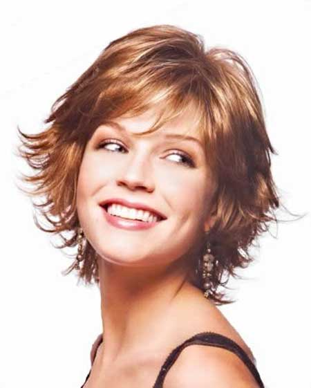 Cutest-Pointy-Red-Layered-Bob Gorgeous Layered Cut Bob Hairstyles