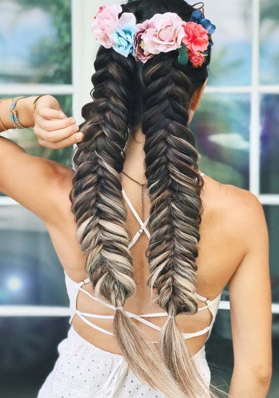 Double-Dutch-Braids Braids Hairstyles 2020 for Ultra Stylish Looks