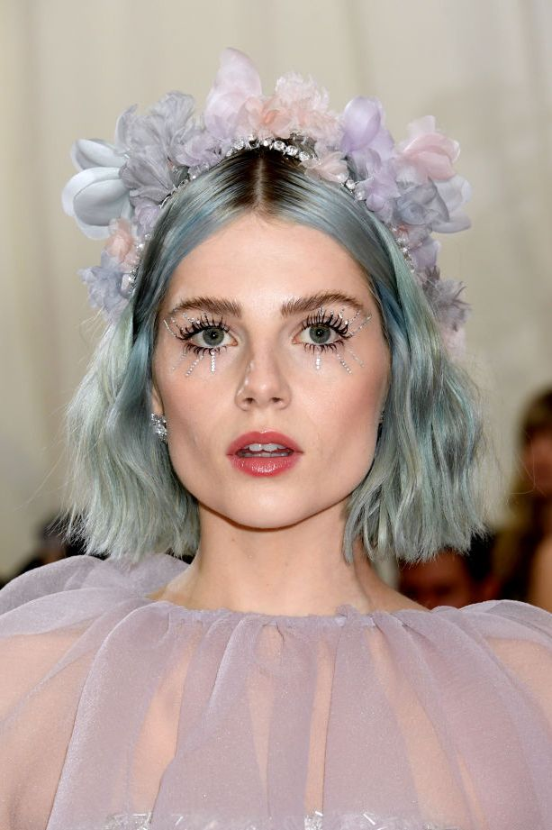 Dusty-Blue Hottest Trendy Hair Colors You're Going to See Everywhere in 2020