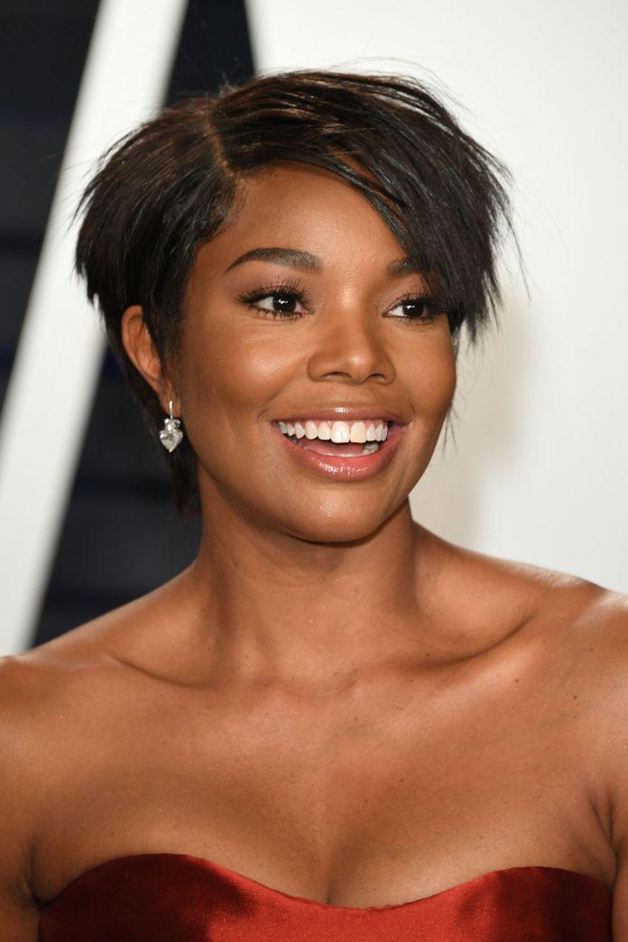 Gabrielle-Unions-Choppy-Blunt-Cut-1 15 Pixie Cuts for All Hair Textures in 2020