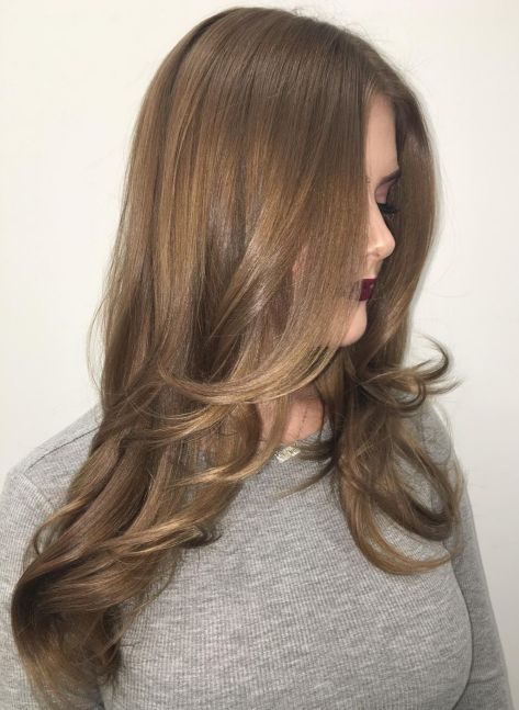Hairstyle-with-Long-Angled-Layers 15 Trendy Long Haircuts For Women In 2020