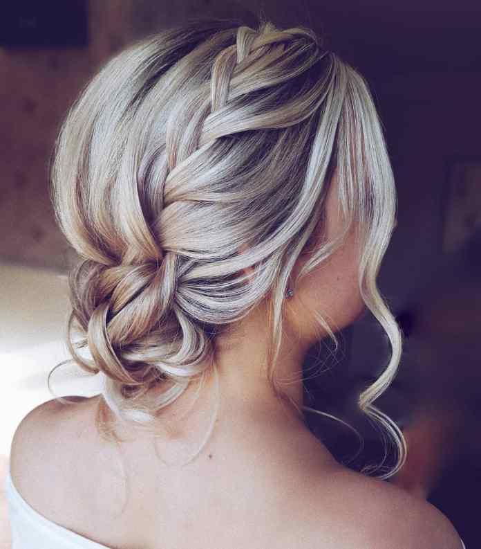 Intertwined-Braid-Hairstyle Ultra Modern Wedding Hairstyles 2020