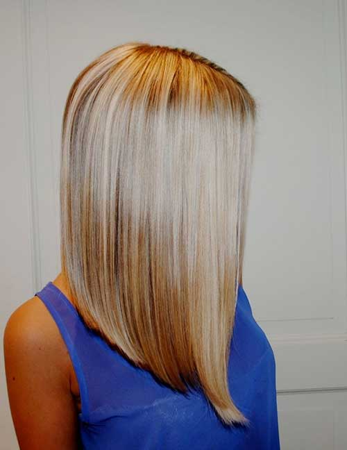 Long-Bob-Straight-Blonde-Haircut 15 Ultimate Straight Long Bob Hairstyles