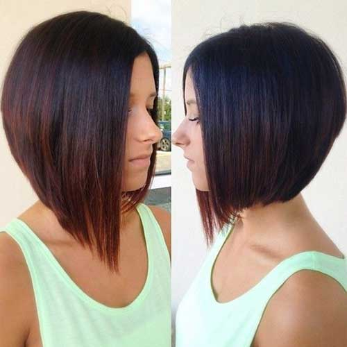 Long-Bob-for-Fine-Straight-Hair-with-Red-Ombre 15 Ultimate Straight Long Bob Hairstyles