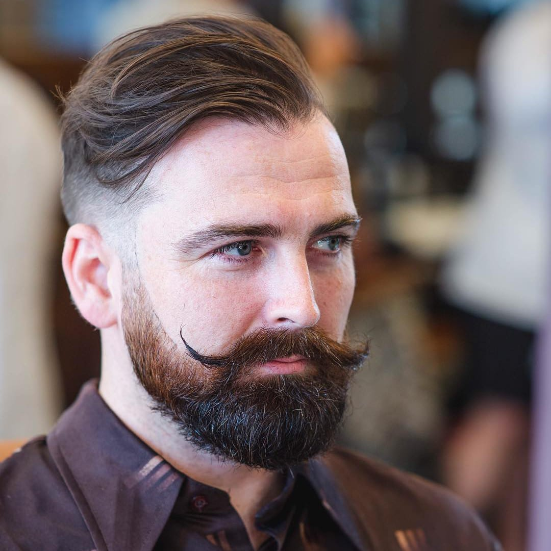 Long-Hair-with-a-Thick-Beard Modern Hairstyles for Men to Look Awesome