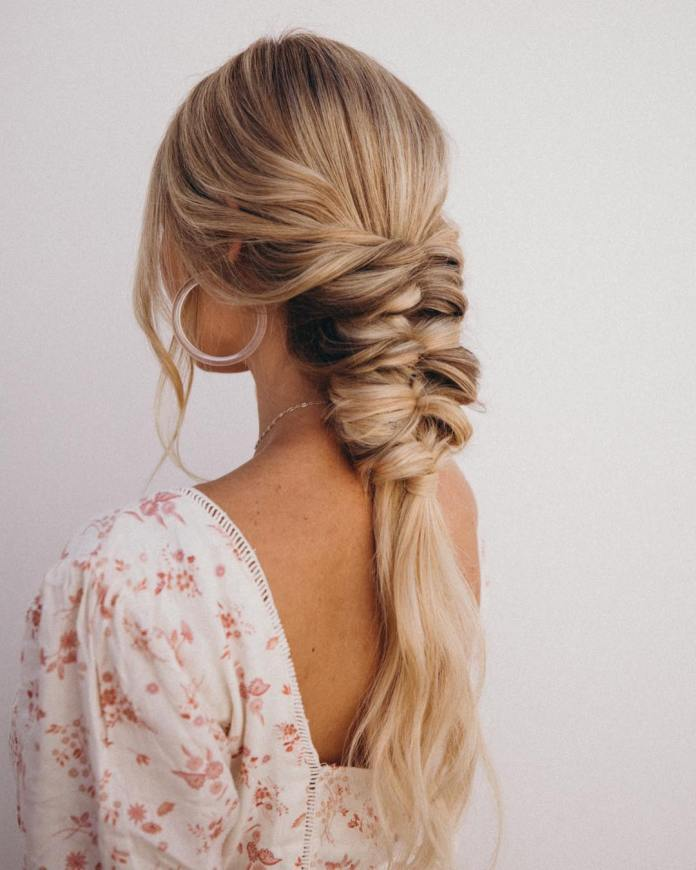 Loosely-Tied-Bridal-Braids Long Braided Hairstyles to Look Beautiful as Never Before