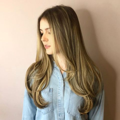 Lovely-Texture-Boosting-Long-Haircut 12 Stunning Hairstyles for Long Fine Hair