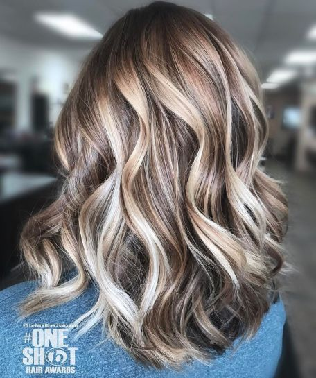 Medium-Hair-and-Multi-Colored-Balayage Balayage and Everything About This Trendy Hair Color