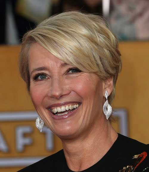 Medium-short-pixie-styles Beautiful Short Haircuts for Older Women