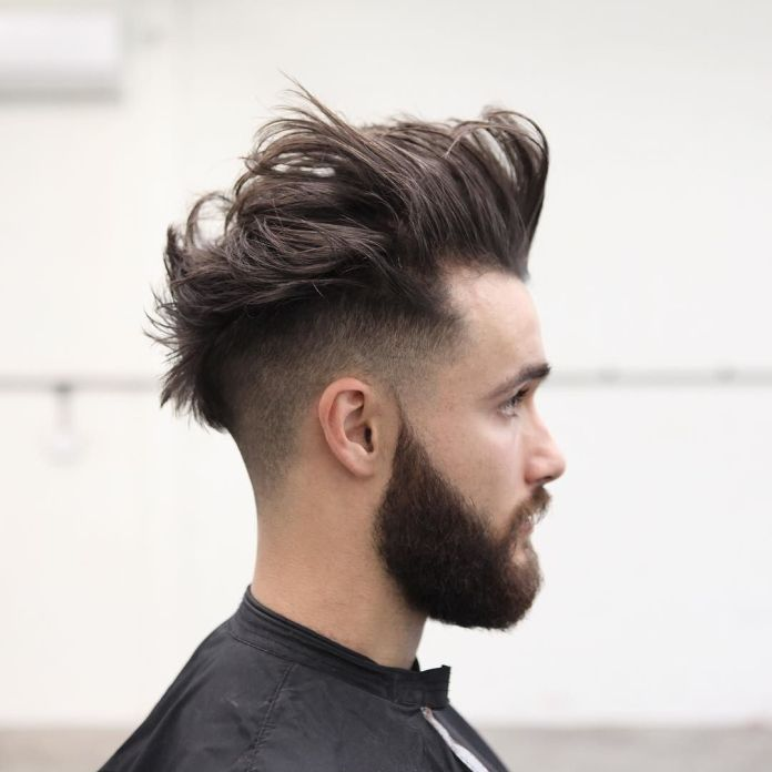 Messy-Waves-and-Low-Fade Modern Hairstyles for Men to Look Awesome