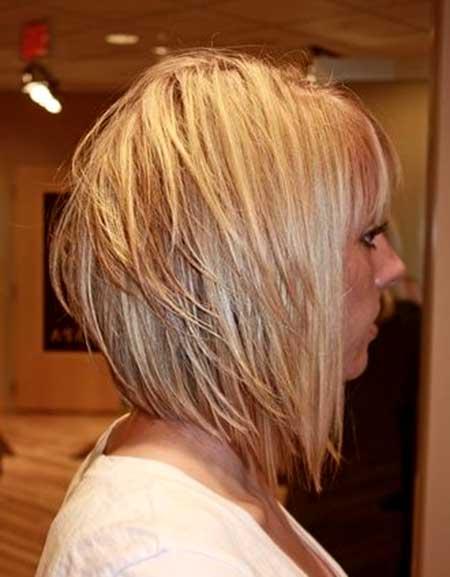 Multiple-Layer-Blonde-Bob 25 Blonde Bob Haircuts