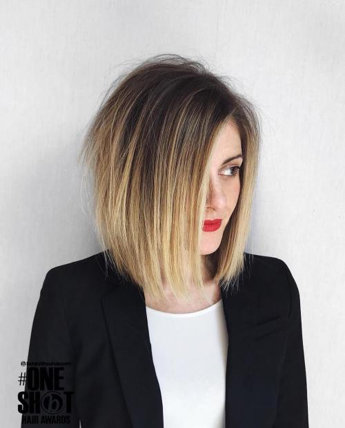 Ombre-Bob-with-Major-Texture. 15 Hottest bobs hairstyles to try in 2020