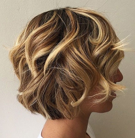 Popular-Balayage-Hair-Color-Ideas-010-ohfree.net_ Popular Balayage Hair Color Ideas for Short Hair
