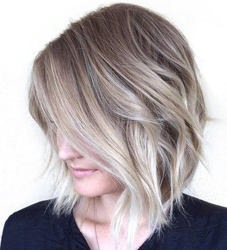 Popular-Balayage-Hair-Color-Ideas-012-ohfree.net_ Popular Balayage Hair Color Ideas for Short Hair